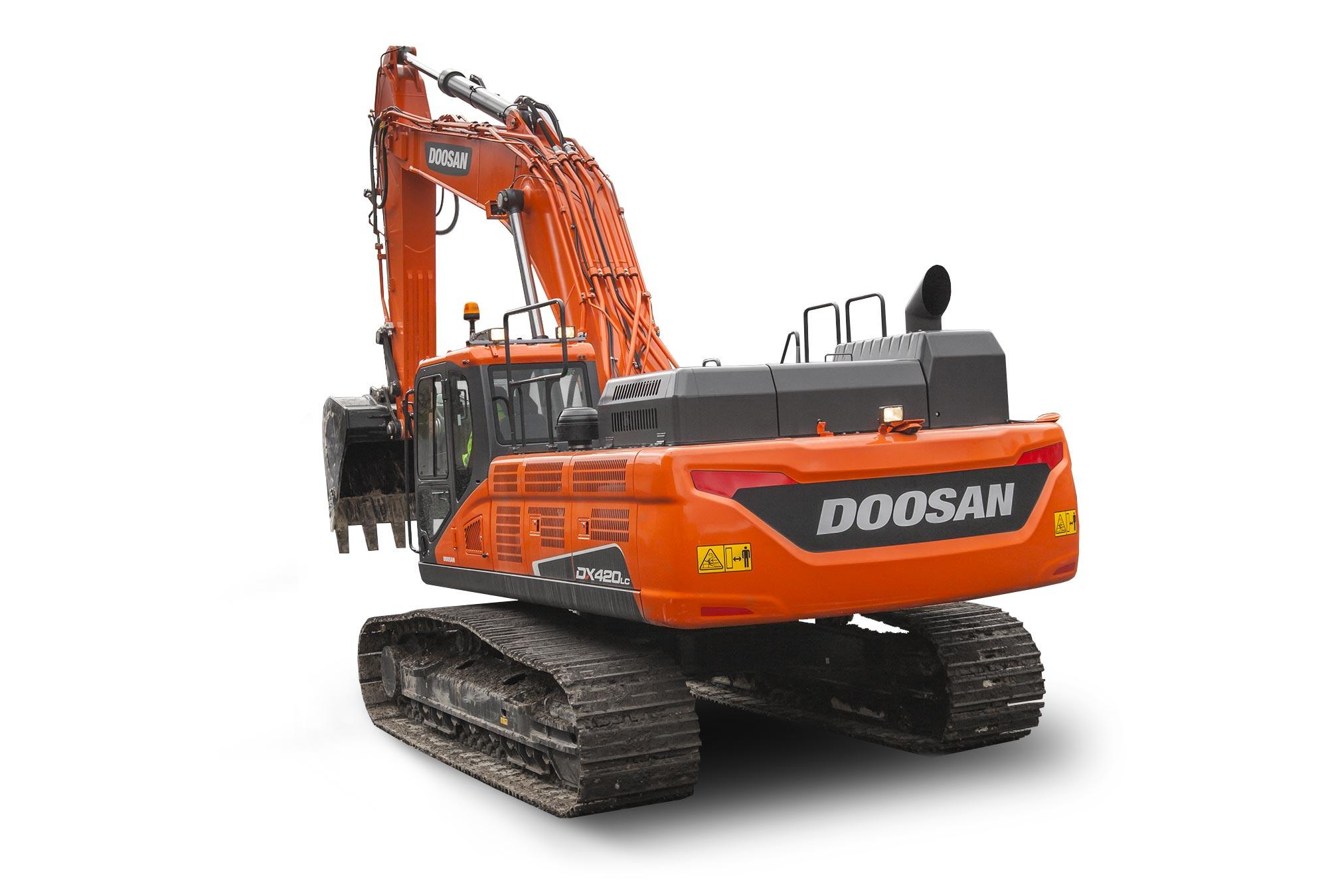 Гусеничный экскаватор Doosan DX 420LCA