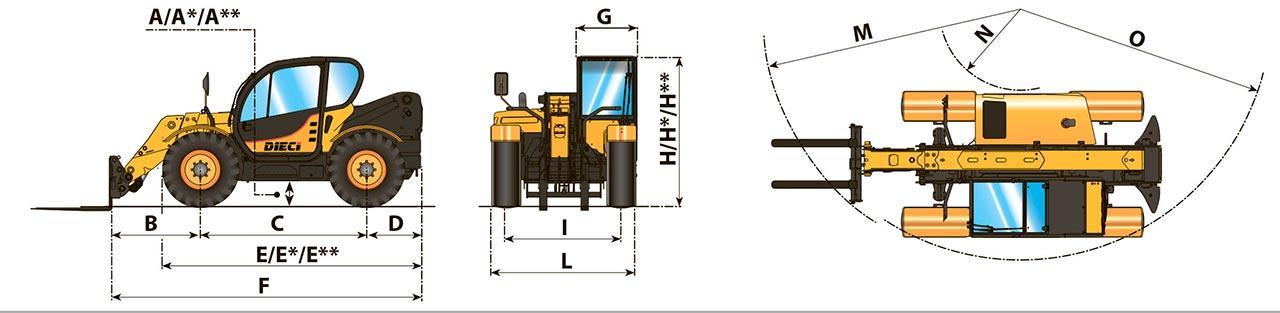 Блок цилиндров MEGA 200-III