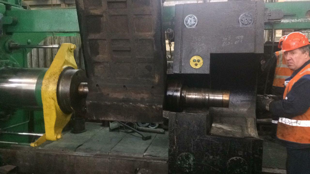 Ремонт дробильной установки TESAB 570 для ООО Башкирская содовая компания