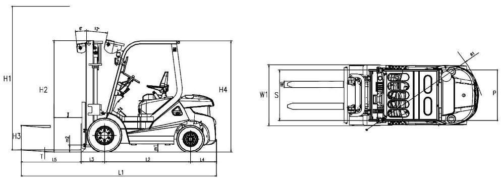 Погрузчики Lonking CDM833 Бак гидравлический