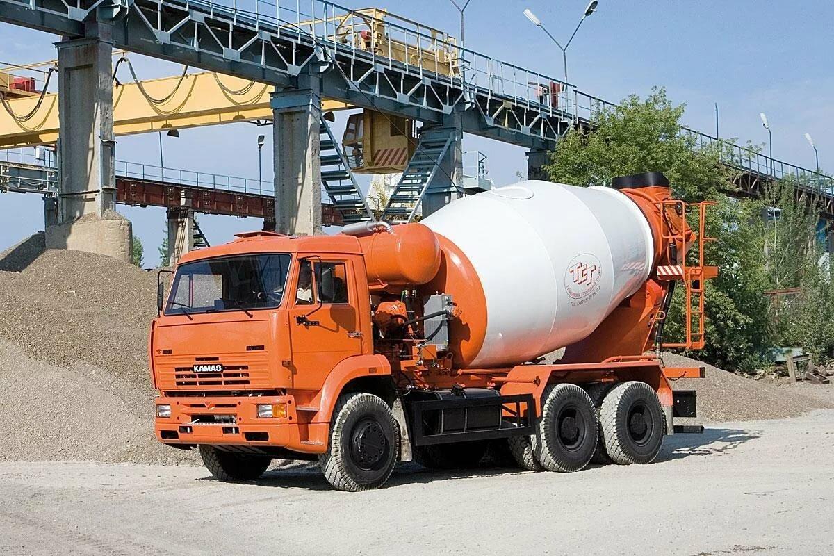 объем миксера бетоновоза камаз