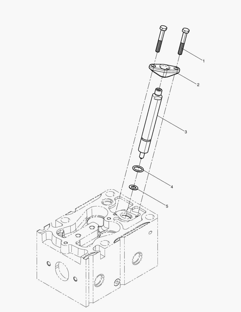Форсунка топливная dx225lc-5