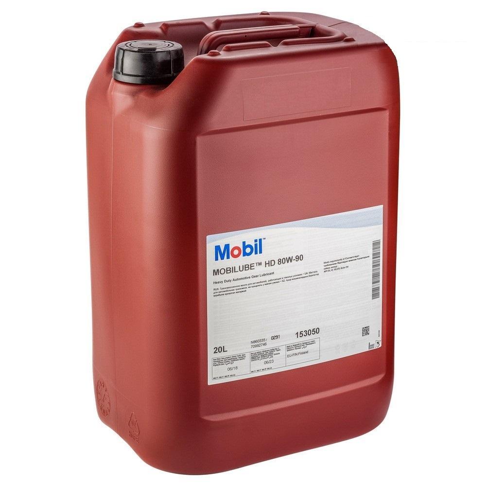 Трансмиссионное масло Mobiliube HD 80W-90