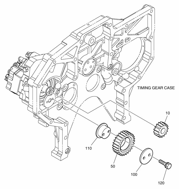 Привод топливного насоса dx225lc-5