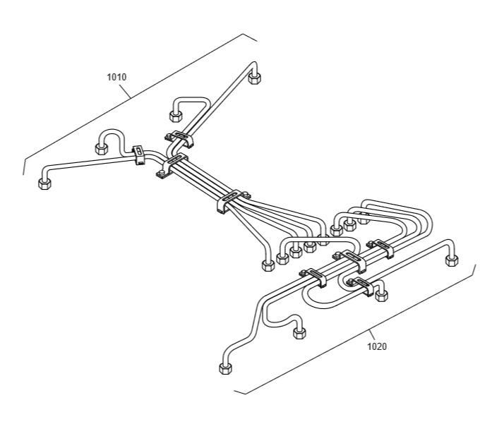 Топливные трубки dx225lc-5